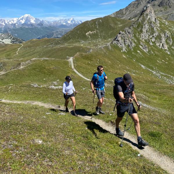 writing retreat alps walk